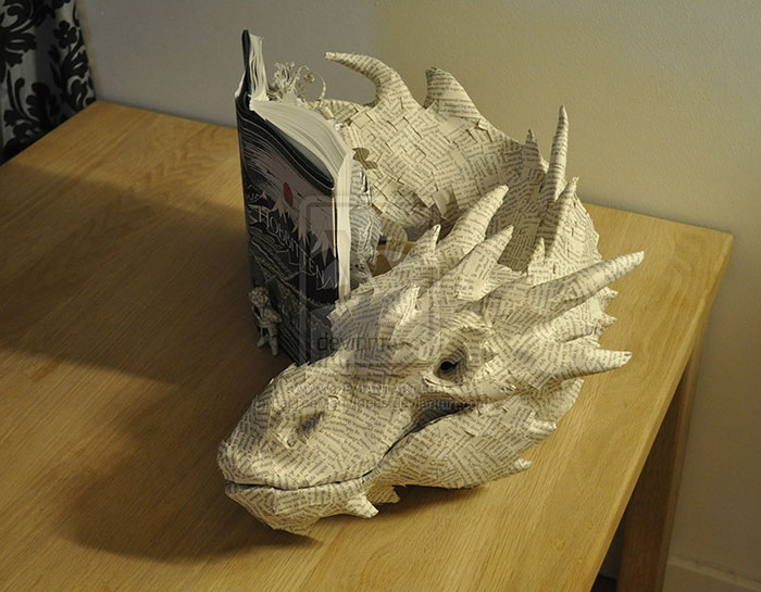Artist Summons 'Smaug the Dragon' From Pages of 'The Hobbit'