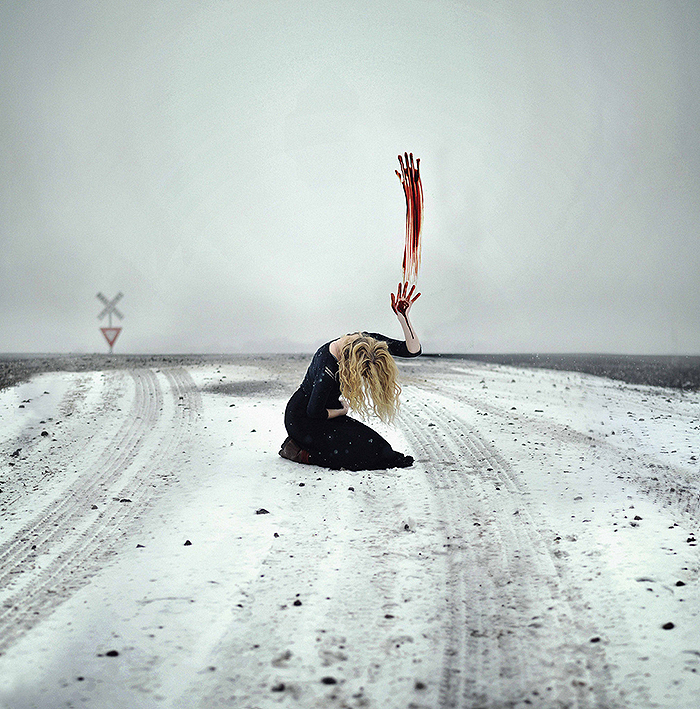 Powerful and Surreal Self Portraits by 20-Year-Old Rachel Baran