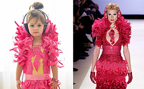 4-Year-Old Daughter And Her Mother Create Stylish Line of Paper Dresses