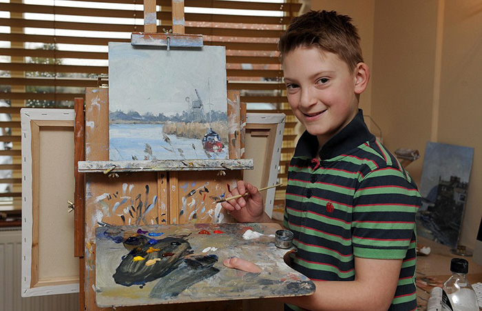 """11-Year-Old """"Mini-Monet"""" Sells His Paintings For Almost $2.5m (QUIZ: Monet or 11-Year Old Boy?)"""