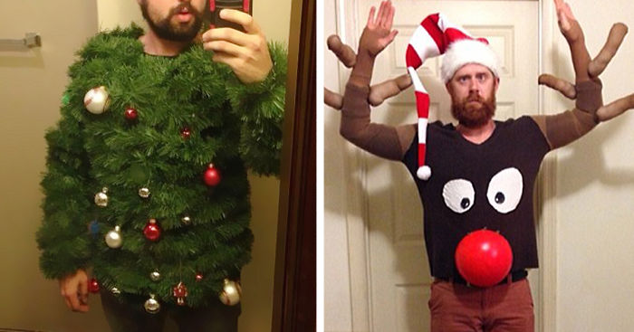 37 Of The Most Creative Ugly Christmas Sweaters Bored Panda