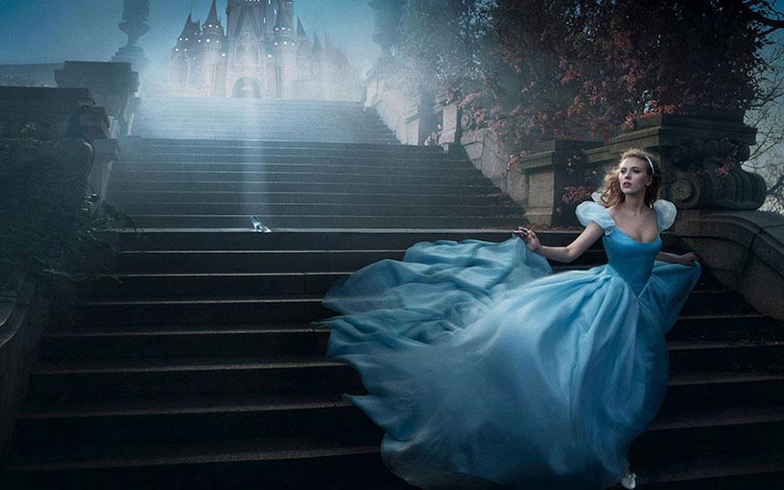 Disney-Themed Celebrity Portraits By Annie Leibovitz | Bored Panda