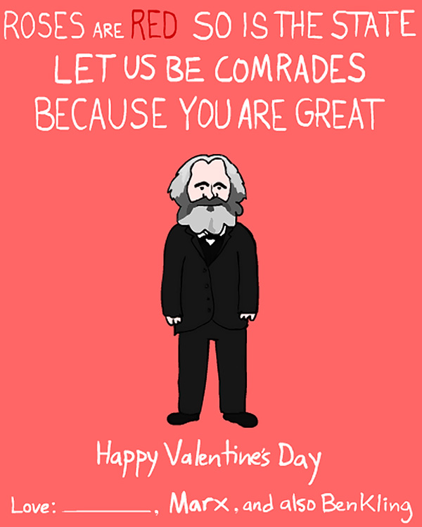 Dictator and Famous People Valentine Day Cards by Ben Kling – Hilarious Valentines Card