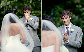 These 18 Grooms Cried Tears Of Joy When They First Saw Their Brides