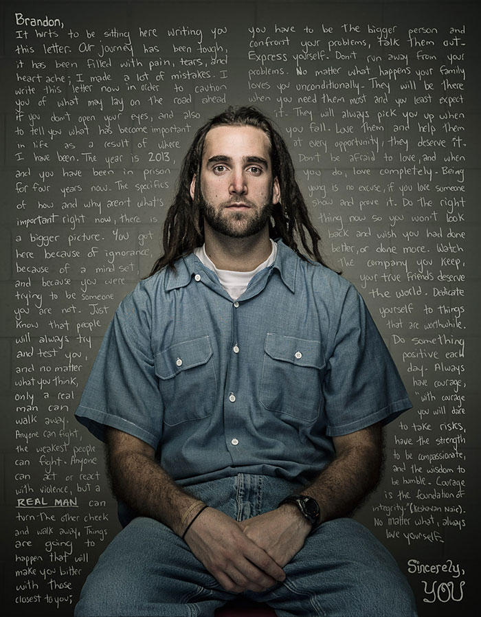 Convicts Write Letters Of Advice To Their Past Selves