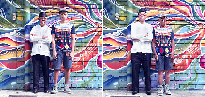 Asian Youths Swap Clothing With Their Elders To Challenge Age Stereotypes