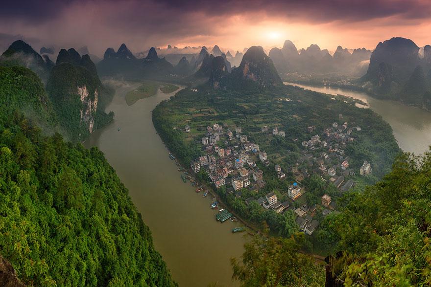 3 Li River China