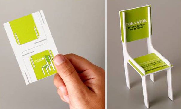 30 of the most creative business cards ever bored panda toy chair business card flashek Images