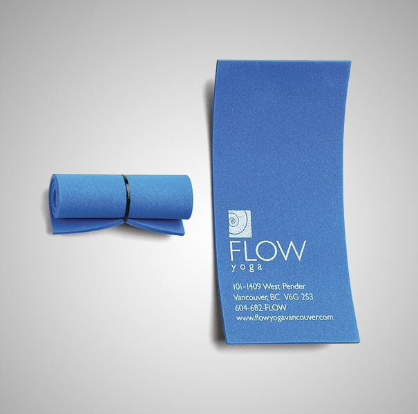 yoga mat business card - Business Card Design Ideas