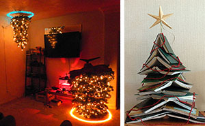 15+ Of The Most Creative DIY Christmas Trees Ever