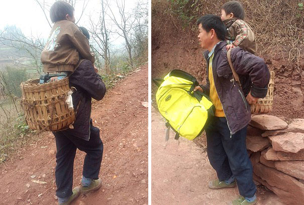 devoted-father-carries-son-18-miles-to-school-2