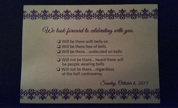 Funny Wedding Invitations Rsvp 4