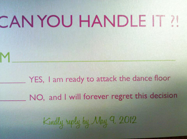 Funny Wedding Invitations Rsvp 9