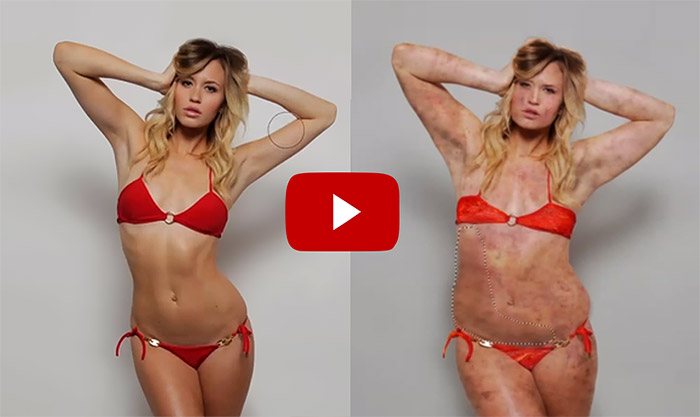 Model Gets Un-Photoshopped (You Won't Believe What She Actually Looks Like)