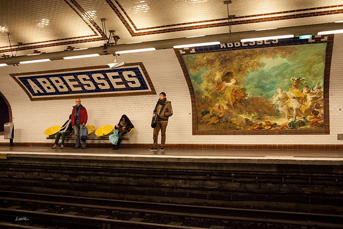 Here's How Your City Would Look If The Ads Were Replaced By Classical Paintings