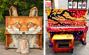 20+ Beautiful Outdoor Pianos You Can Play All Around The World