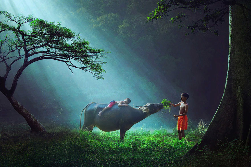 Magical Photos Of Children Playing Around The World Bored Panda - 25 incredible photographs will make want go indonesia