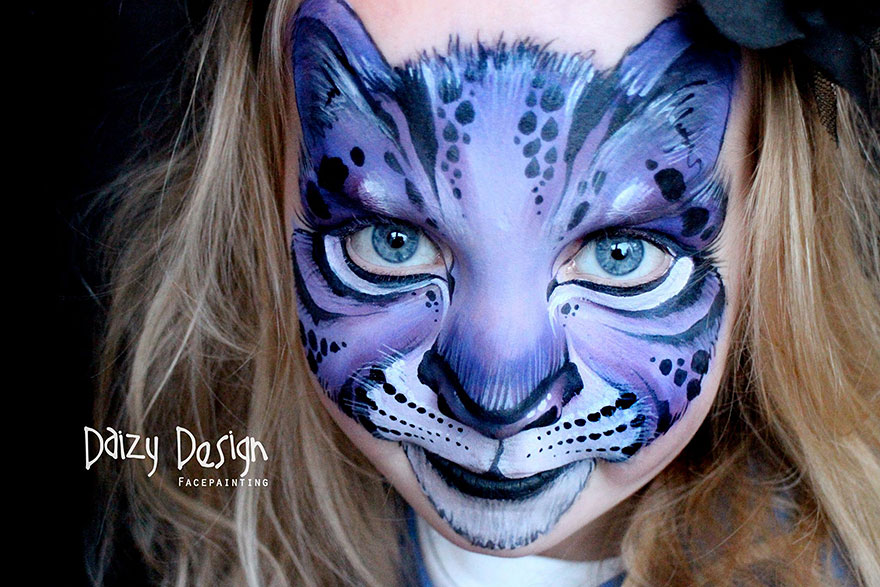 Cool Face Paint Designs For Football Games