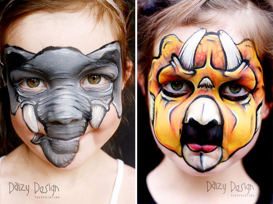 Face Painting Designs For Kids Animals Wwwimgarcadecom Online