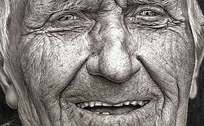 16-Year-Old Girl Wins National Art Competition With Stunning Hyper-Realistic Pencil Portrait