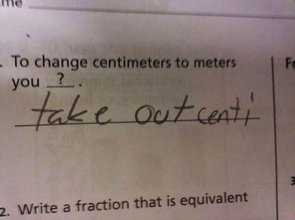 30 Brilliant Test Answers From Smartass Kids | Bored Panda