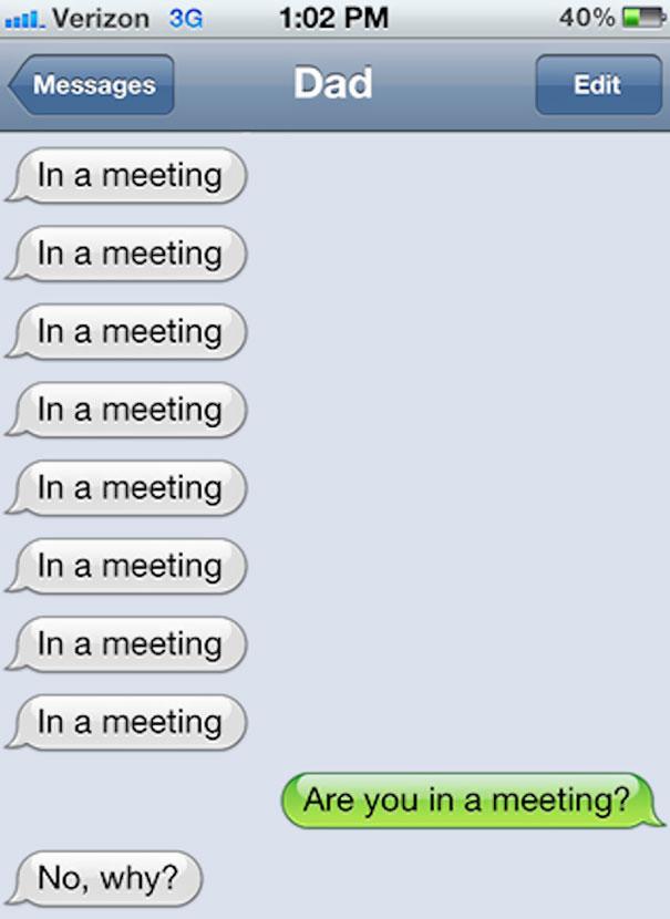 Parent teacher meeting gets weird