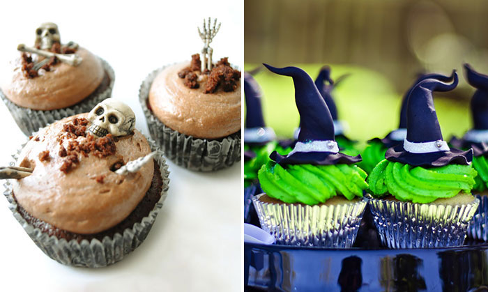 21+ Frightfully Tasty Halloween Cupcakes