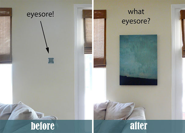 23 Creative Ways To Hide The Eyesores In Your Home And