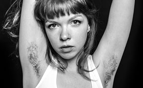 Photographer Challenges Female Beauty Standards With Unshaven Underarm Pictures