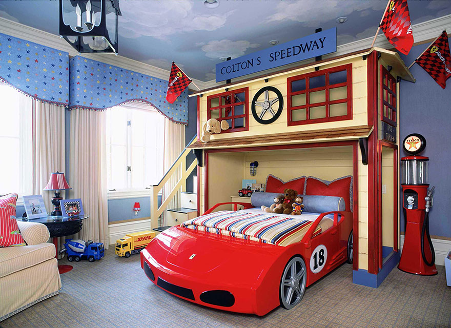 Racetrack Bedroom