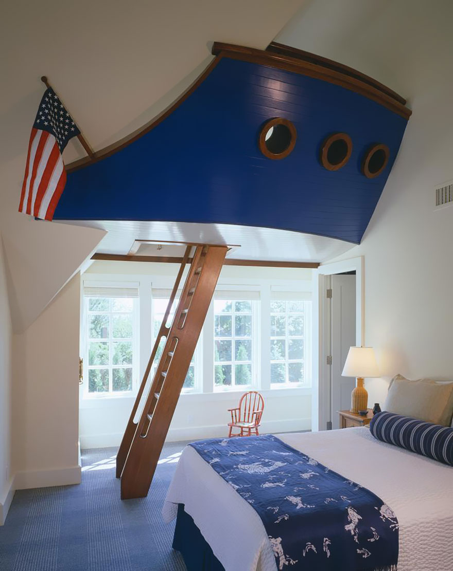 22 creative kids room ideas that will make you want to be for Bedroom ideas kids boys