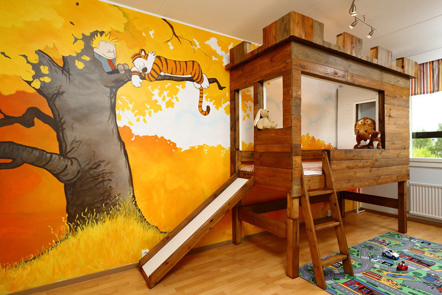 Charmant Creative Children Room Ideas 14
