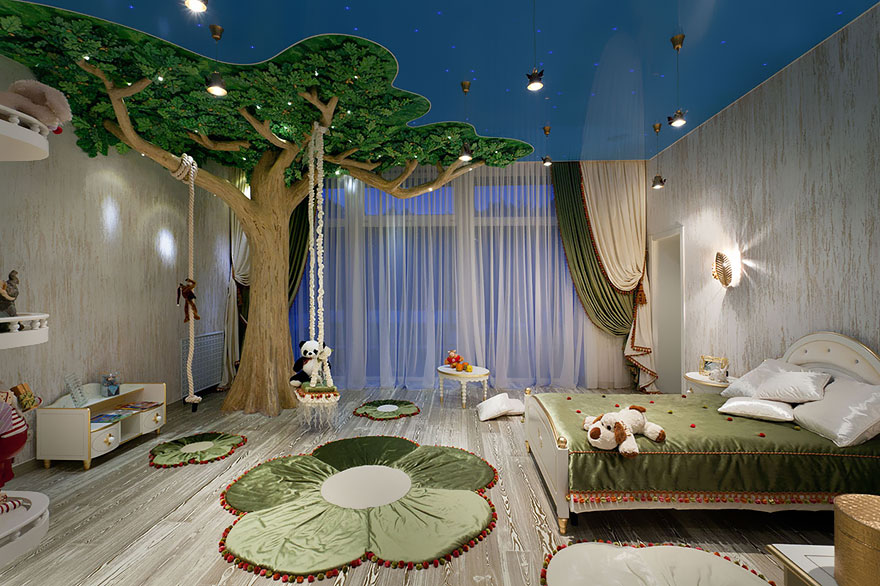 creative children room ideas 15 2 - Kids Bedroom Decoration Ideas