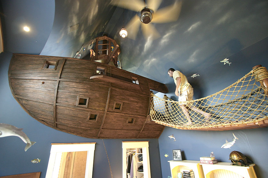 22 Creative Kids\' Room Ideas That Will Make You Want To Be A Kid ...