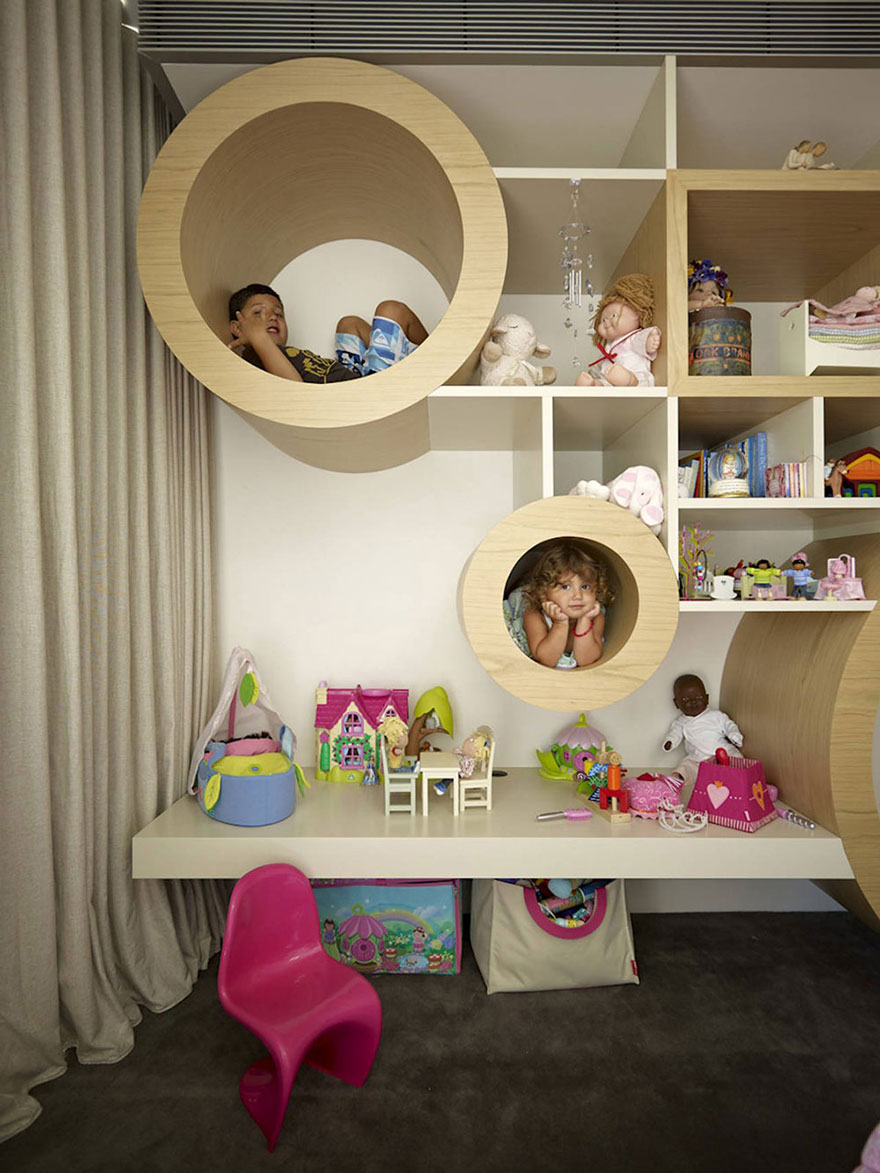22 creative kids room ideas that will make you want to be for Cool kids rooms decorating ideas
