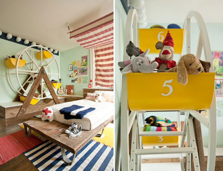 22 creative kids' room ideas that will make you want to be a kid Beds for Children's Rooms