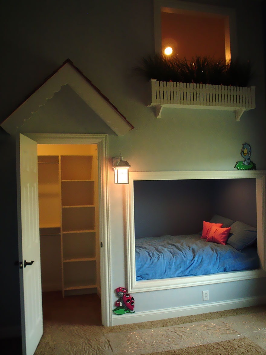 22 creative kids room ideas that will make you want to be for Creative home designs
