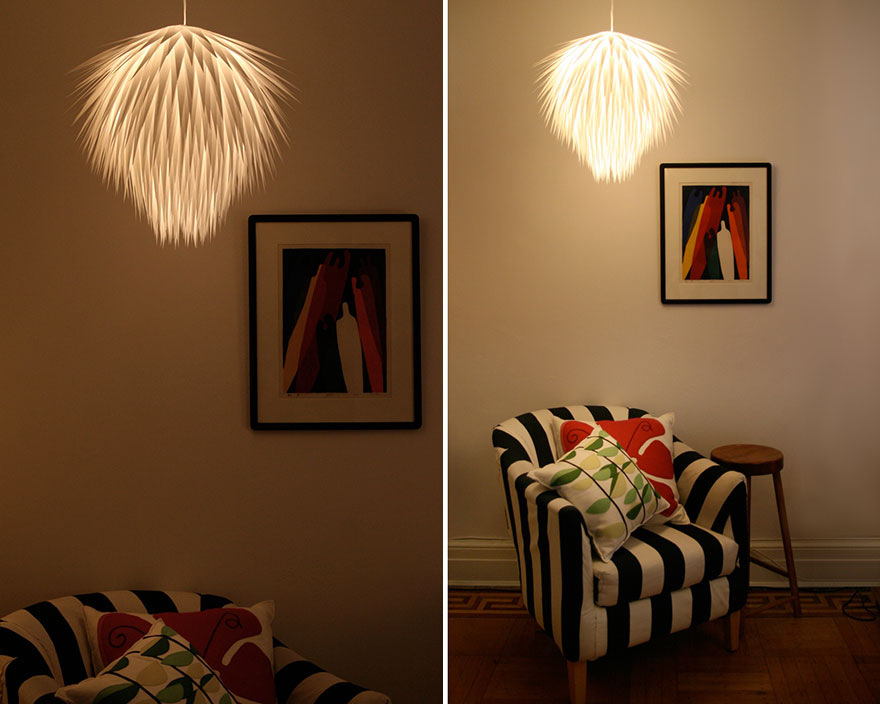 21 diy lamps chandeliers you can create from everyday objects creative diy lamps chandeliers 21 2 mozeypictures Image collections