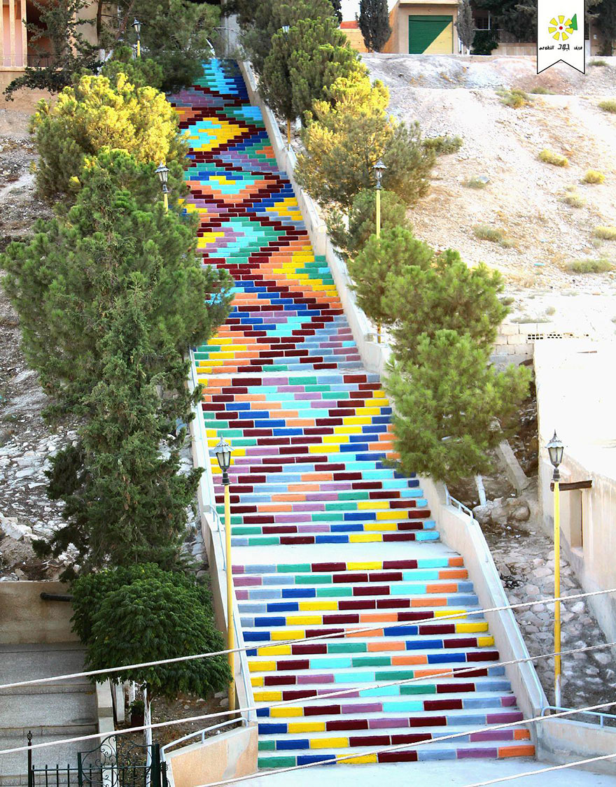 Wonderful Creative Stairs Street Art 16 1