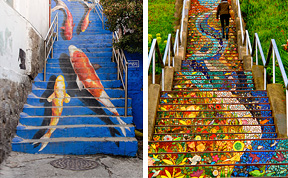 17 Of The Most Beautiful Steps Around The World