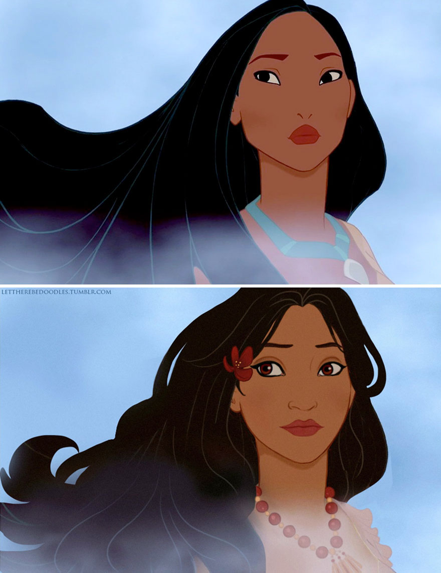 disney-princess-reimagined-different-race-let-there-be-doodles-5