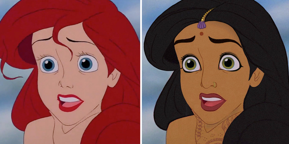 Disney Princesses Reimagined As Different Ethnicities Look