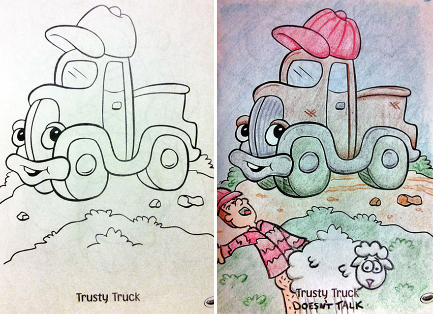 See What Happens When Adults Do Coloring Books (Part 2) Bored Panda