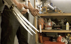 Badass British Inventor Builds Real-life Wolverine Claws That Extend And Retract