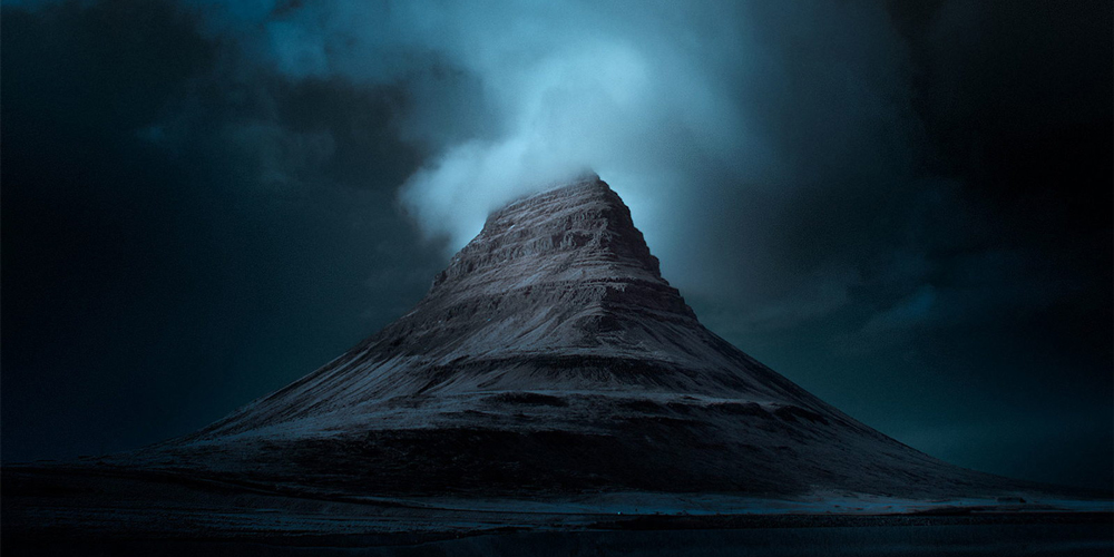 Blue Iceland: Stunning Photos Of Icelandic Landscapes Taken With Infrared Technique