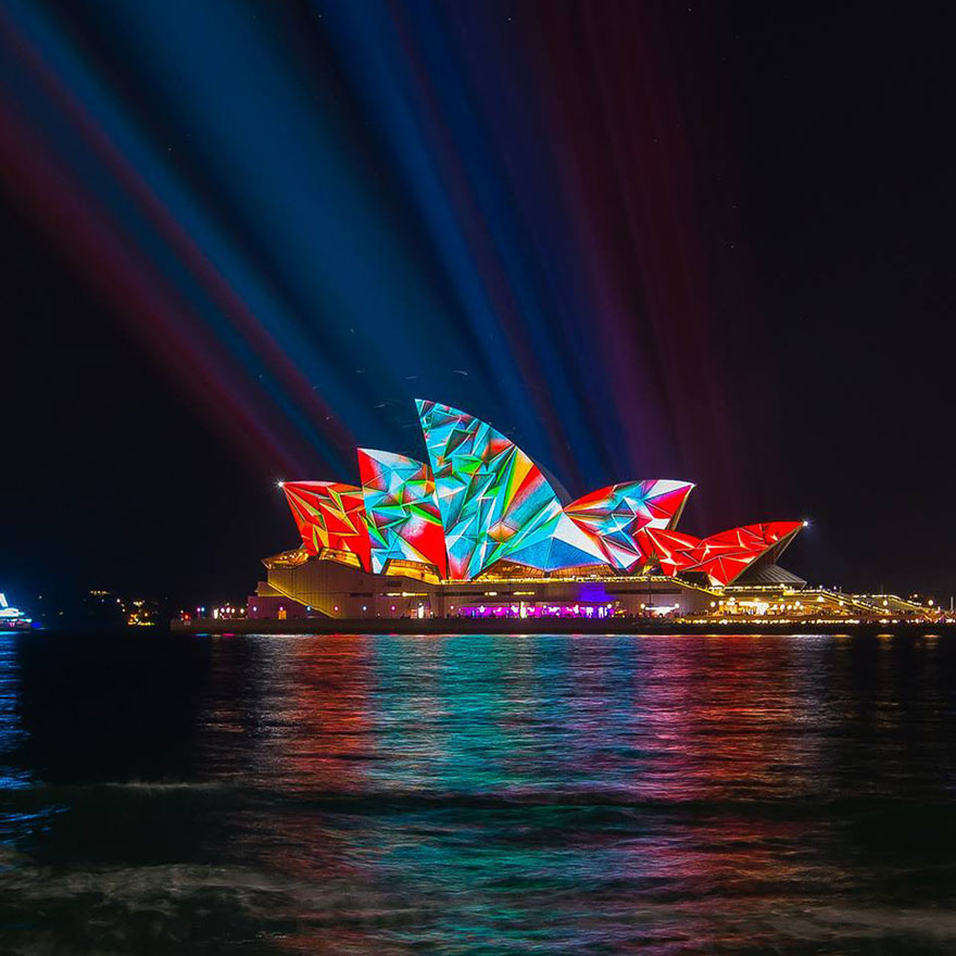 Landscape Lighting Near Me: Light Transforms Sydney's Buildings Into Stunning Works Of