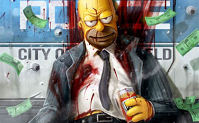 Your Favorite Childhood Cartoon Characters Reimagined As Criminals And Demons