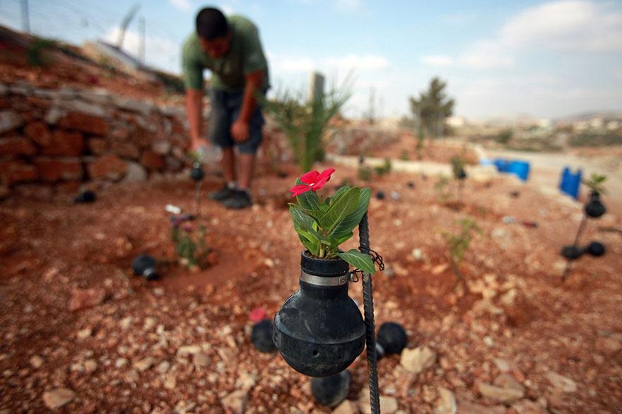 tear-gas-flower-pots-palestine-8