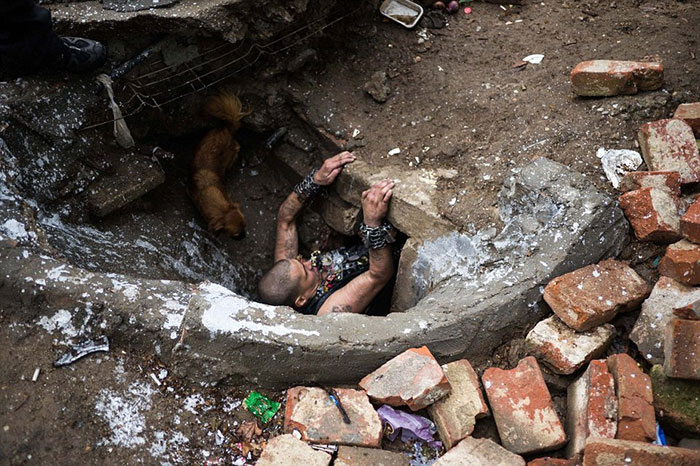 Life Under The Streets: Drug Addicts And Orphans In Romania Find Homes In The City Sewers