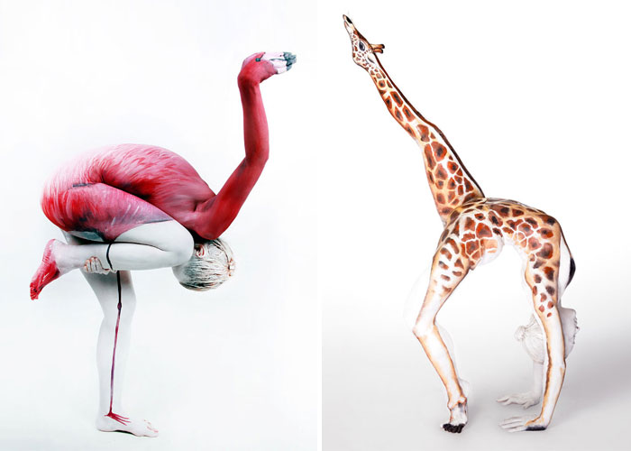 22 Stunning Examples Of Animal Body Art